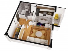 Planuri apartamente 3D